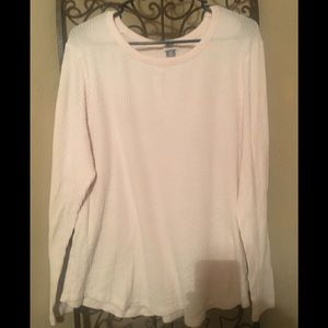 OldNavy pale pink sweater